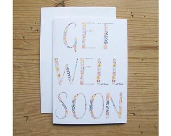 Greetings Card - Get Well Soon!