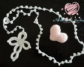 Crochet rosary - communion gift- baptism gift - special gift