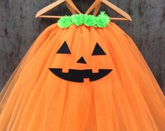 Halloween, Pumpkin Tutu Dress, Halloween Tutu Dress, Halloween Costume, Pumpkin, Tutu Dress, Tutu Skirt,