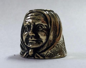 Grandmother's thimble, Amulet, Great mother, Nanny, Protect