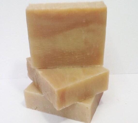 Vegan Cranberry Peach Pie Soap Loaf