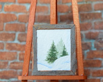 Watercolor Painting - Dollhouse Miniatures - 1:12