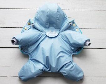 Warm and Cosy Dog Full Body Coat - Dog Raincoat - Dog Coat - Dog Clothing - Pet Clothes - Available to Any Breed - Small & Big dog