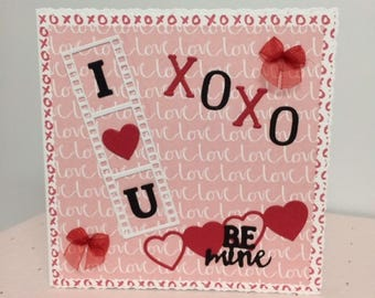 Valentines Day Card, Greeting Card, Romantic, Love Card, Card For Him