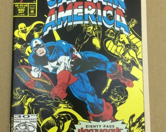 Captain Americ #400 - Special Issue! Great Nostalgic Gift!