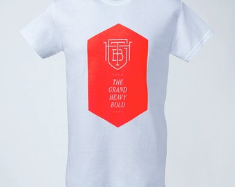 TGHB Hexagon T-Shirt white