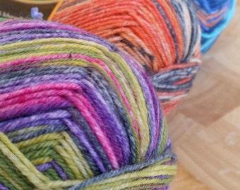 Opal sock yarn, REGENWALD, 4 Ply , 100g, 425 mts, wool and nylon