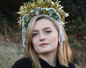 Headdress Goddess - Sacred Heart O' Jaysis (LOCAL COLLECTION ONLY)