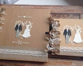 Rustic Wedding Album Size 12