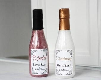 Wine Scented Bath Salts