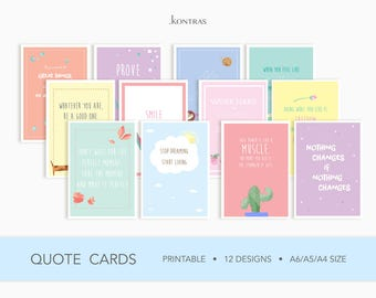 Quote Cards Set of 12
