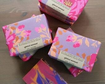 Apricot Currant handmade soap