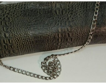 PRICE CUT!!!    Alligator BOSS...  Wideload of elegance.  This is the cadillac of purses