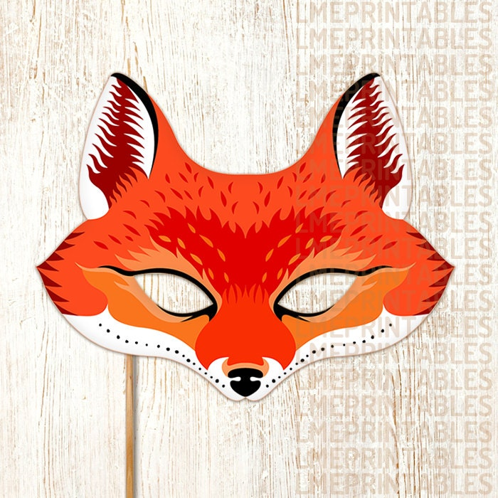 Y Fox Boston Red Fox Mask Printable...