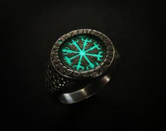 viking rune ring vegvisir women viking ring vegvisir ring vegvisir talisman norse ring norse - Norse Wedding Rings