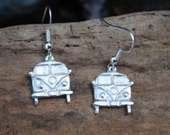 Camper Van Earrings
