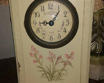 Shabby French clock.