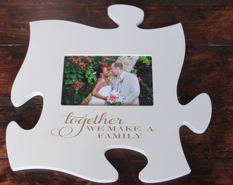 Personalized Puzzle Frame  Wall Decor