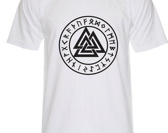 Valknut Symbols T Shirt -P245