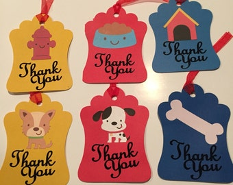 Dog thank you tags