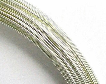 5 Feet Solid Sterling Silver Wire 28g Dead Soft 0.3mm Bright White 925 Fine Precious Metal (ID DB sw-rd-ds-03Mx05ft)
