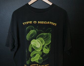 Type O Negative This Blood's For You 1990s vintage Tshirt