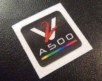 VAMPIRE Accelerator Commodore Amiga Label / Aufkleber / Sticker / Badge / Logo 2,0 x 2,0cm [335]