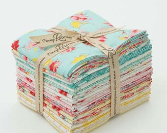 FREE SHIPPING Lily Fat Quarter Bundle by Penny Rose for Riley Blake Designs FQ 5930 18