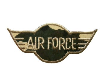 US Air Force Patches Applique Embroidered Iron On Patch
