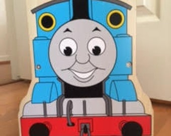 Thomas the Train Wooden Train Carrier *Rare*