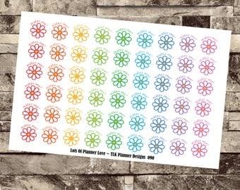 90 - Hydrate Flowers - Pastels