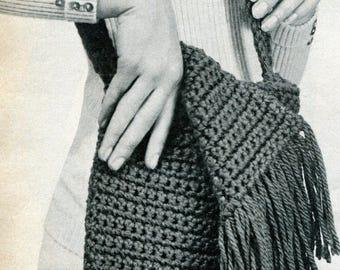 Vintage Retro Purses Crochet Pattern PDF Instant Download