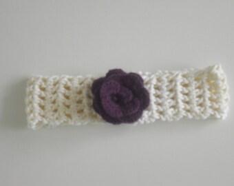 Headband - crochet - KU 46-56 cm