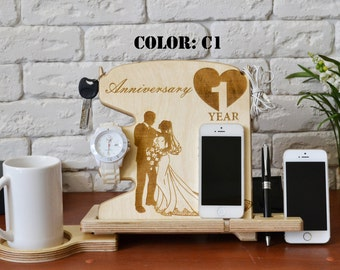 Wood anniversary gift for him 1st wedding anniversary gift 6th anniversary 2 wedding anniversary gift 1 anniversary gift for couple