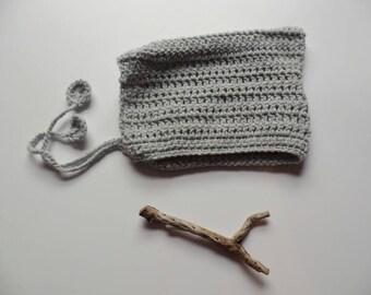 Pixie bonnet, elf hat, baby hat, baby pixie hat, knitted bonnet, Winter hat,  knitted pixie hat,  gnome hat, bonnet, baby hat  photoshoot,