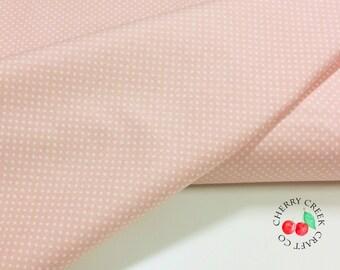Happy Day Fabric Yardage, Dots Pink, Riley Blake Designs, Lori Whitlock Fabric