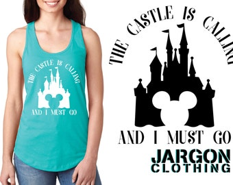 The Castle Is Calling And I Must Go - Disney