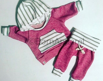 Baby girl outfit / baby girl clothes / cute baby clothes / baby clothes / pink baby outfit / newborn girl outfit / baby girl gift / baby