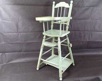 Doll High Chair Etsy