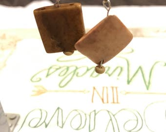 Mismatched Wood Earrings