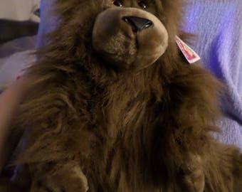"""Applause Monkey plush Gorilla brown NWTS  Sillie Gorillie 15"""""""