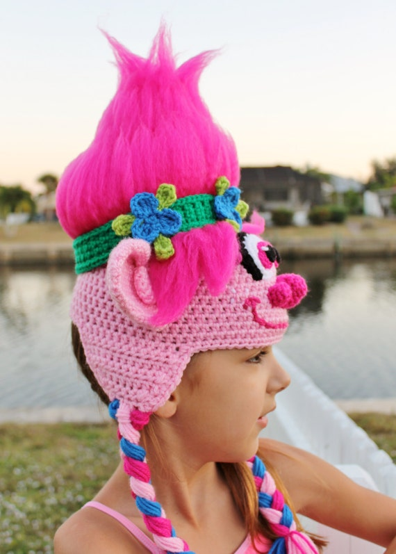Trolls Movie Poppy Crochet Hat Pattern Pdf Crochet