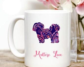 Maltese love Coffee Mug