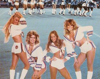Argo Sunshine Girls 1979 Toronto Argonaut Cheerleders  Poster