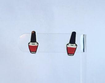 Nail Polish Earrings