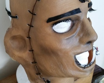 Leatherface Mask (Without Wig)