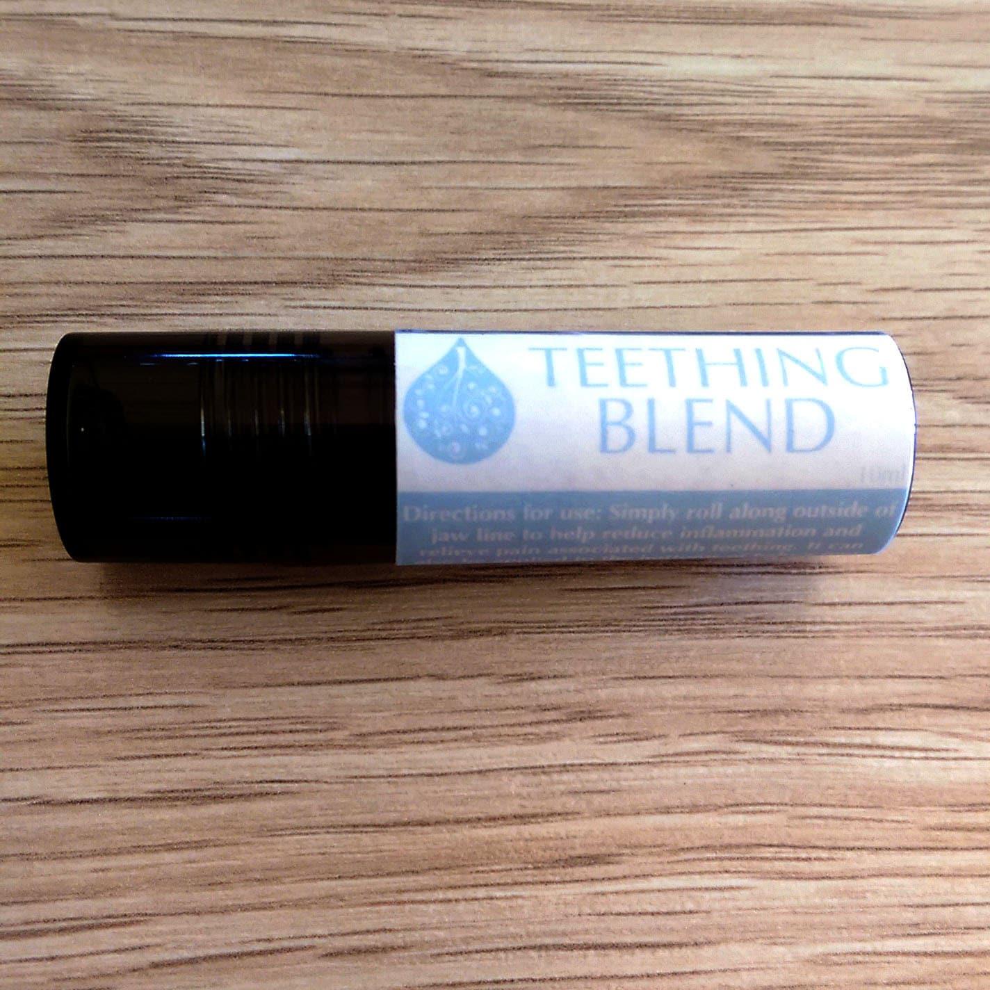 Teething Blend Roller 10ml Bottle Baby Safe Aromatherapy
