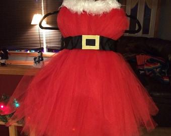 Tulle Santa dress