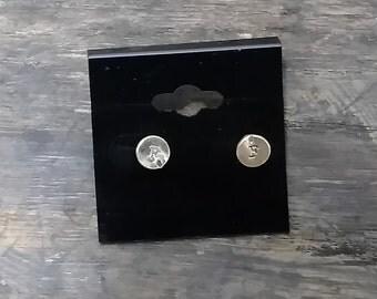 22 Caliber Post Earrings