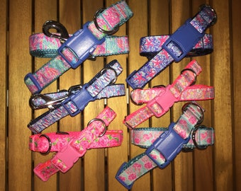 Lilly Inspired Collar/Leash Set